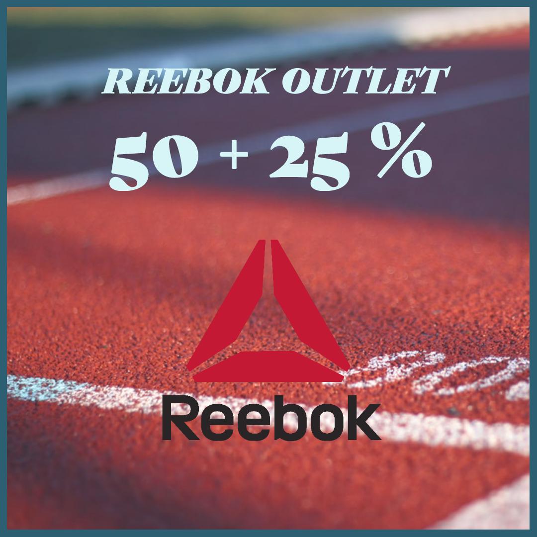 Reebok Outlet // 50%