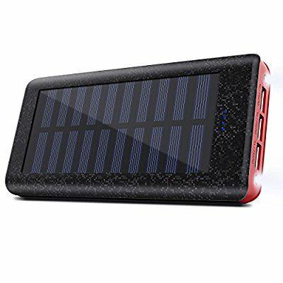 Power Bank solar 24.000mAh