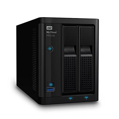 Western Digital My Cloud Pro Series PR2100 - Almacenamiento en red (NAS) de 4 TB