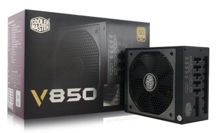Fuente de alimentación Cooler Master V850 80 Plus Gold 850W Modular