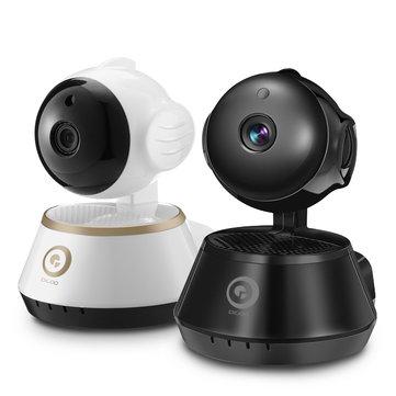 Cámara de vigilancia con visión nocturna, WiFi y grabación interna / Digoo DH-M1X