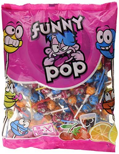 Juan Lopez Funny Pop, Caramelo duro - 200 unidades producto plus