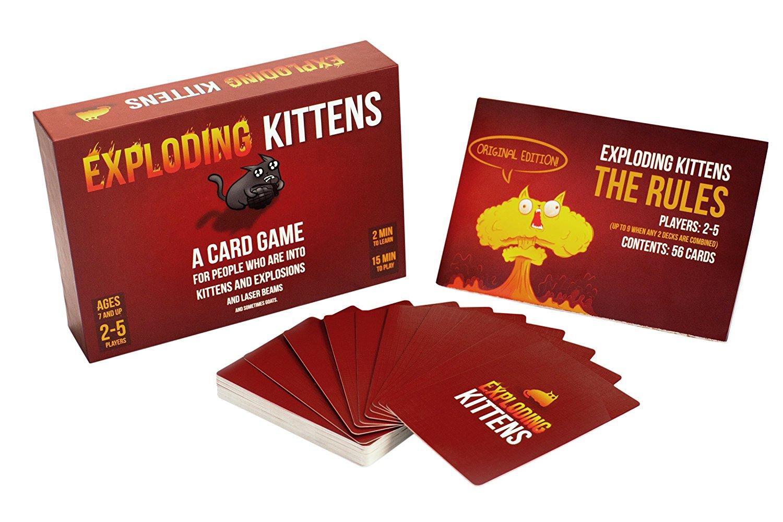Exploding Kittens juego cartas solo 5.3€