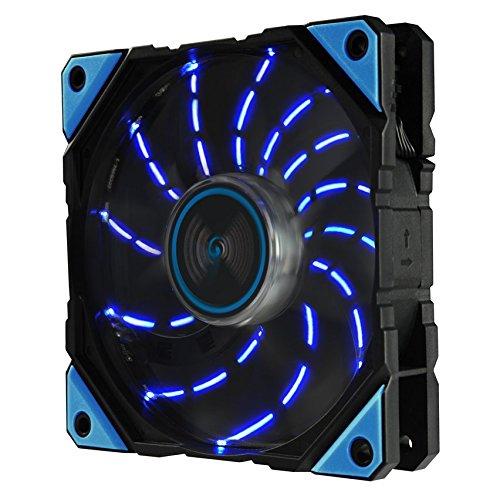 Enermax D.F. Vegas Ventilador PC (12 cm, 800 RPM, 1500 RPM, 16 dB)