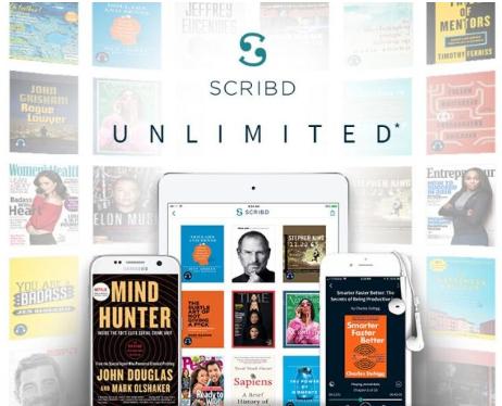 Dos meses Scribd Unlimited GRATIS