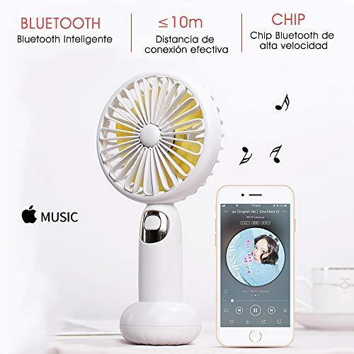 Ventilador/Altavoz 4W/Bluetooth
