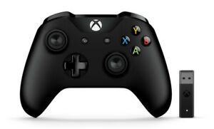 Mando inalámbrico Xbox One, Bluetooth + Adaptador para Windows 10