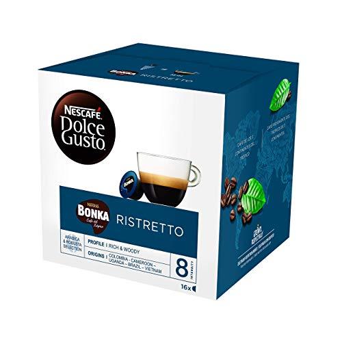 Capsulas café Dolce Gusto Bonka Pack de 3 x 16 capsulas - Total: 48