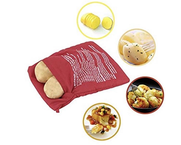 Bolsa para asar patatas en 4 minutos