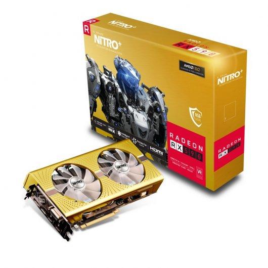 AMD RX 590 8 GB 50 años Aniversario + Nitro Software