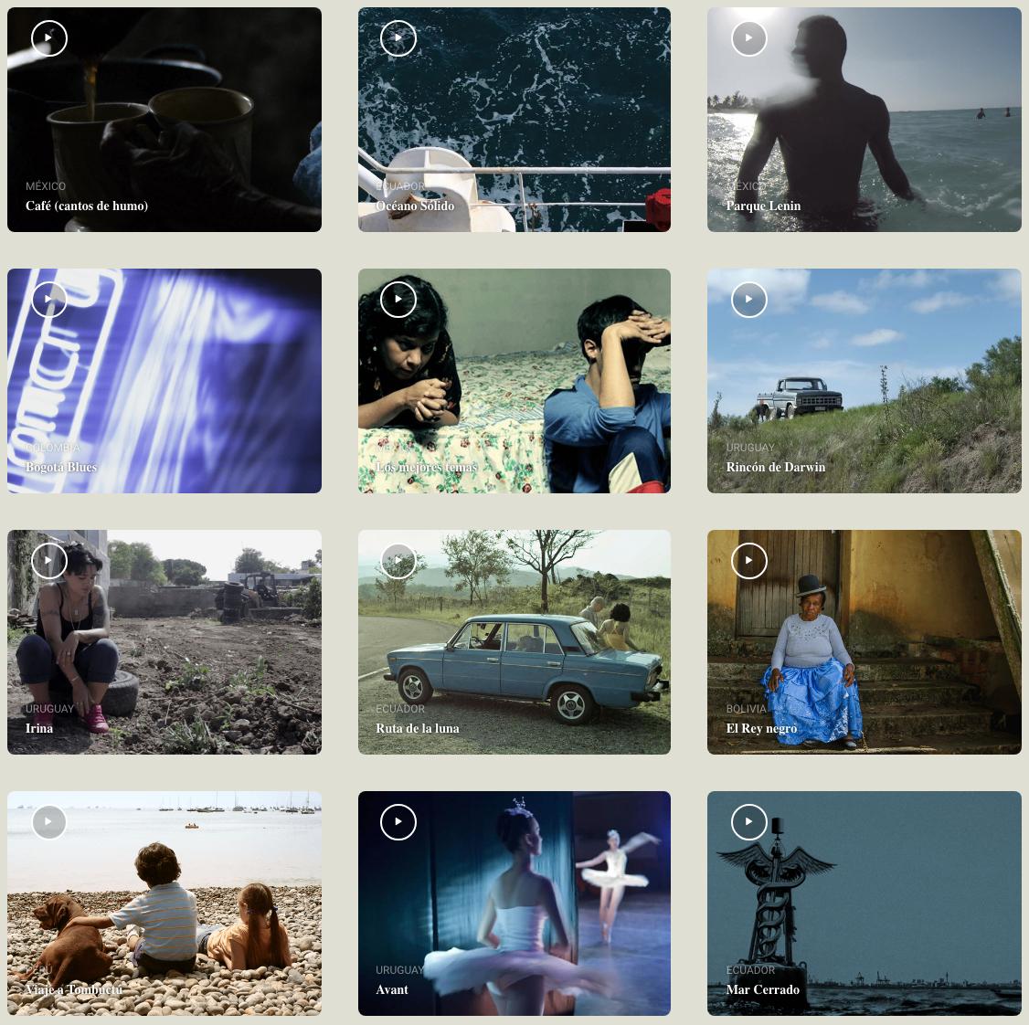 Retinalatina, ver cine latinoamericano gratis