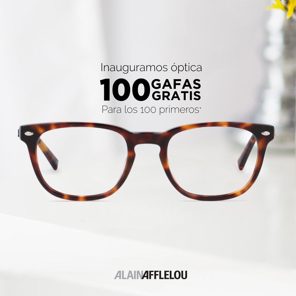 Gafas Graduadas GRATIS Alain Afflelou Logroño y nuevas inauguraciones