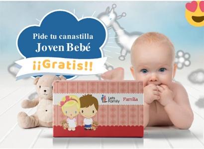 Canastilla gratis bebé letsfamily