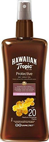 Hawaiian Tropic Protective Dry Spray Oil