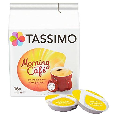 80 cápsulas Tassimo morning café 5 Paquetes de 16 capsulas