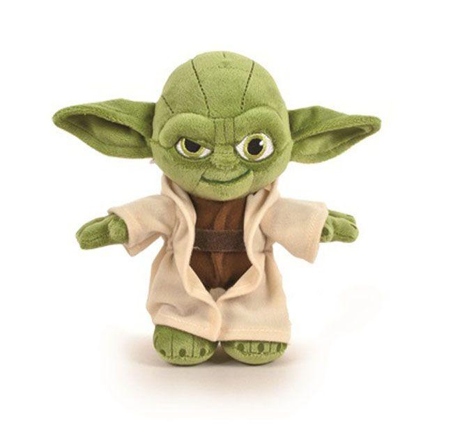STAR WARS - Peluche Yoda y Otros 17 cm(PLUS)