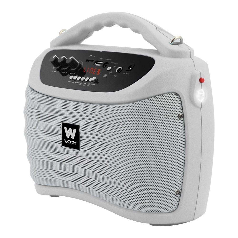 Woxter Rock'N'Go White 40W, bluetooth + microfono