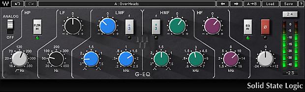Plugin VST de Waves, SSL G