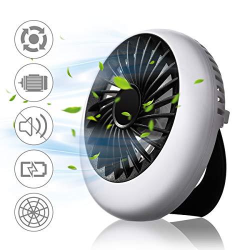 Ventilador portatil 1200mAh USB solo 6.9€