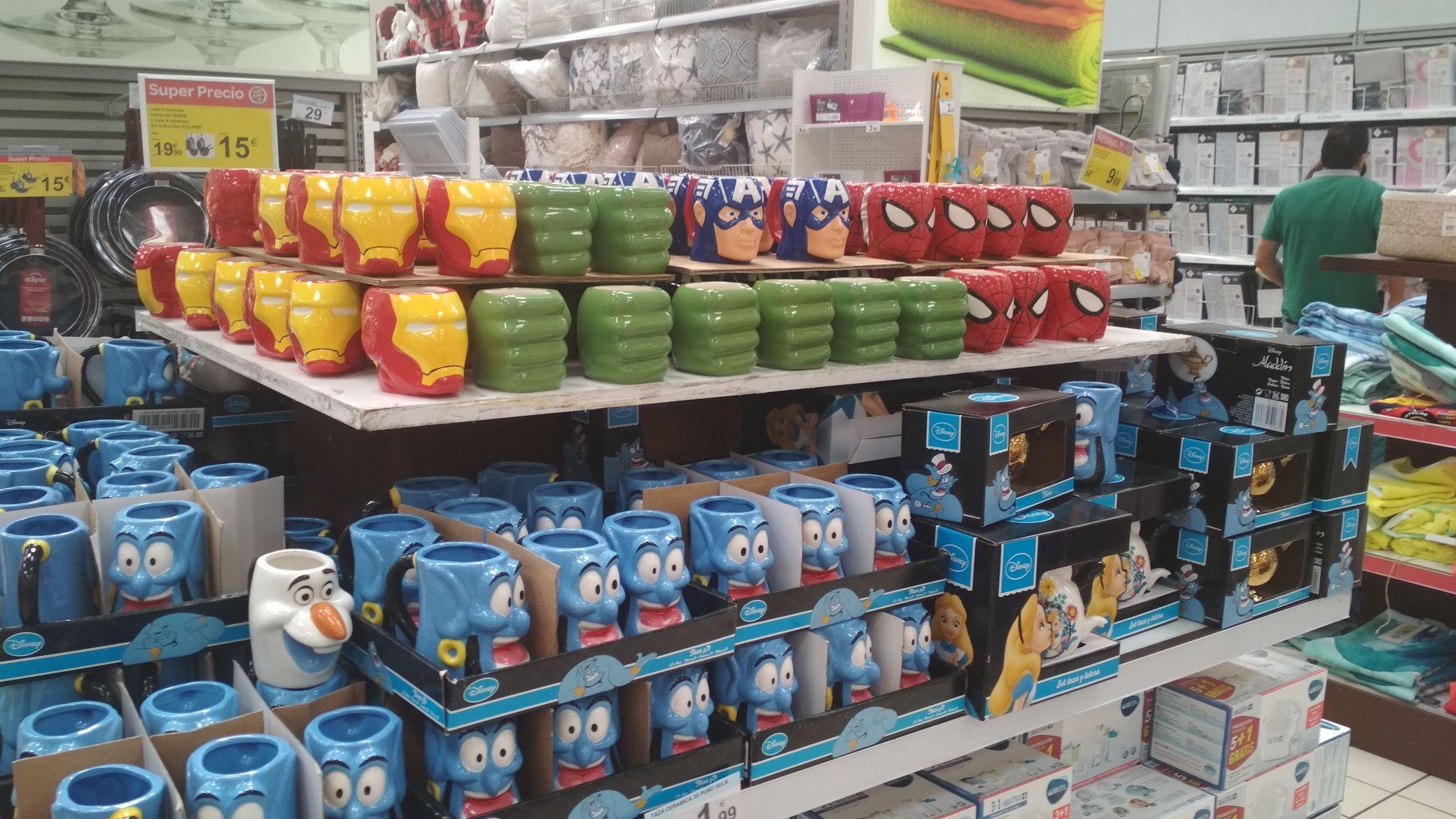 Tazas de cerámica MARVEL
