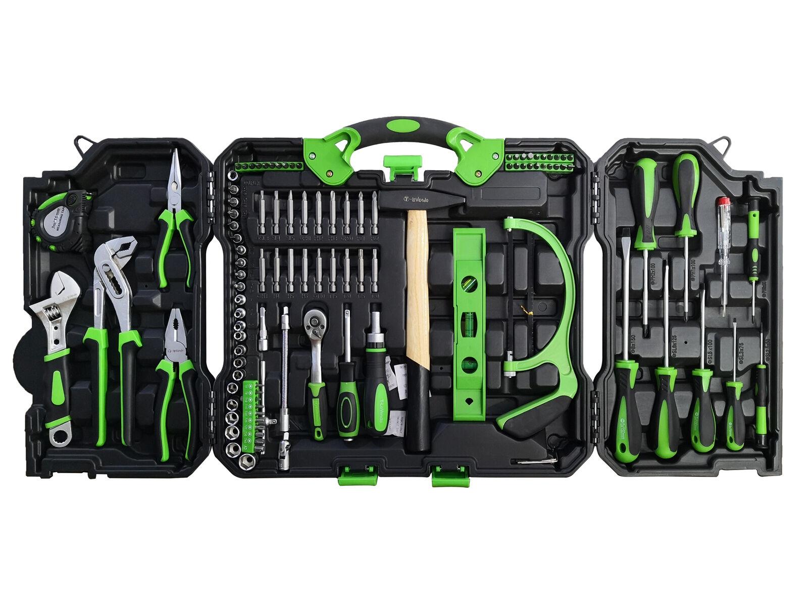 Maletín herramientas 110 Piezas solo 29.9€