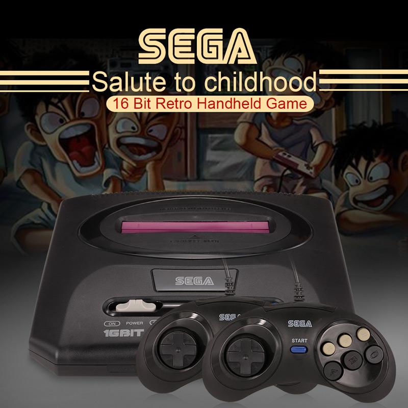 Consola de videojuegos Sega Mega Drive 2 16 bits Retro