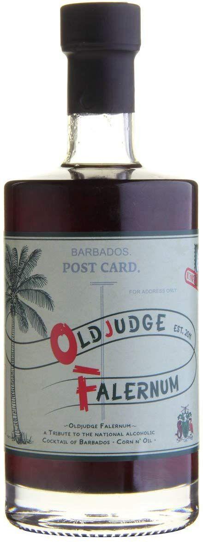 Old Judge Falernum (licor especiado con ron) - 500 ml