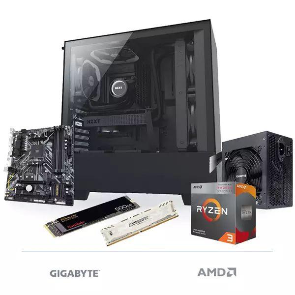 PC FAST & ELEGANT RYZEN 3 3200G 16GB 500GB NMVE