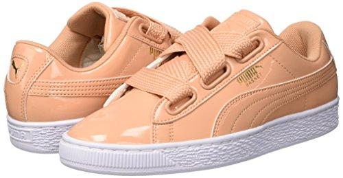 Puma Basket Heart Patent Wn's, Zapatillas para Mujer Talla 40.5