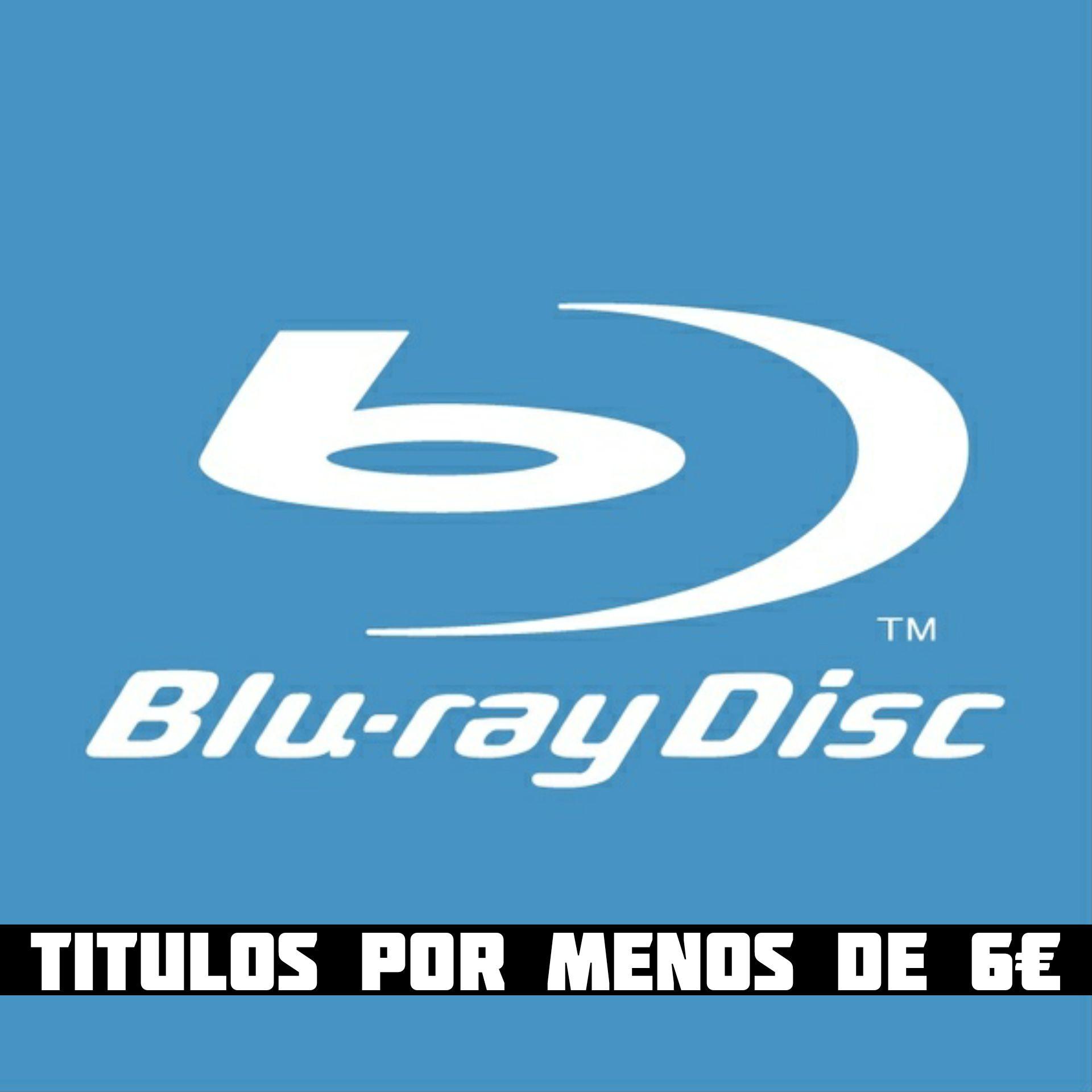 Listado de títulos en Blu-ray por menos de 6€ (Actualizado 15/08)