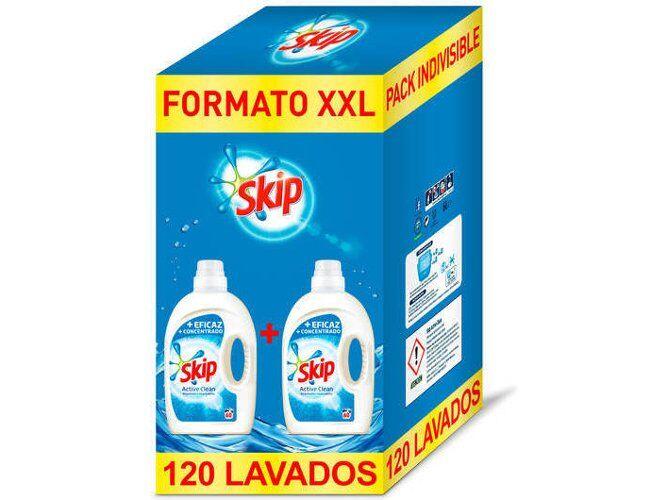 Detergente Skip 2x60 lavados a 11,99€ y envío gratuito