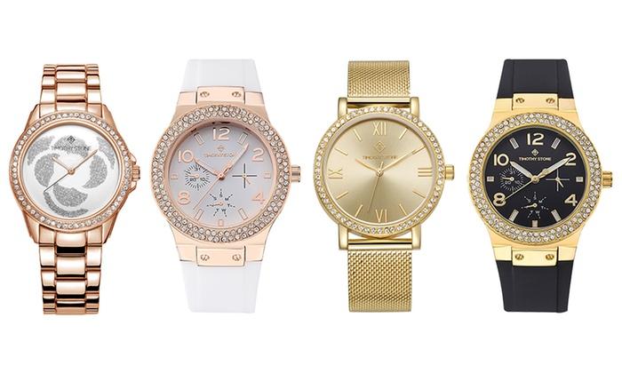 Relojes Timothy Stone con cristales Swarovski