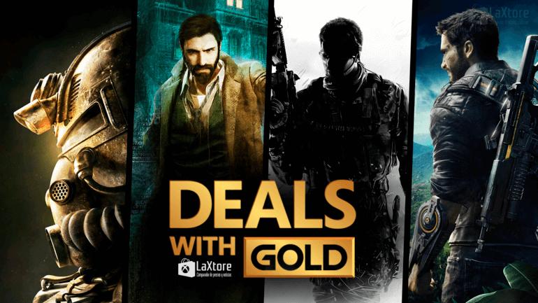 DEALS WITH GOLD Xbox - Hasta 90% de descuento (Descripcion)