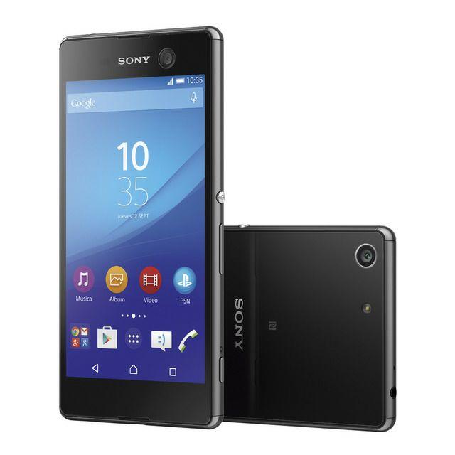 Smartphone libre (Reacondicionado grado A) Sony Xperia M5 Negro