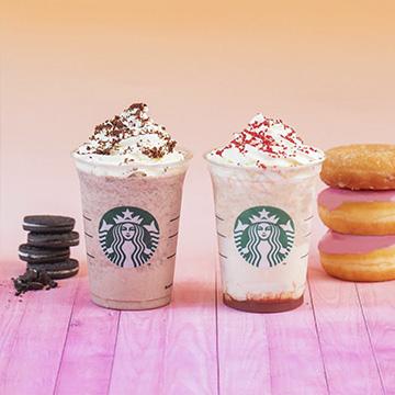 50% de descuento en tu 2ª bebida Starbucks