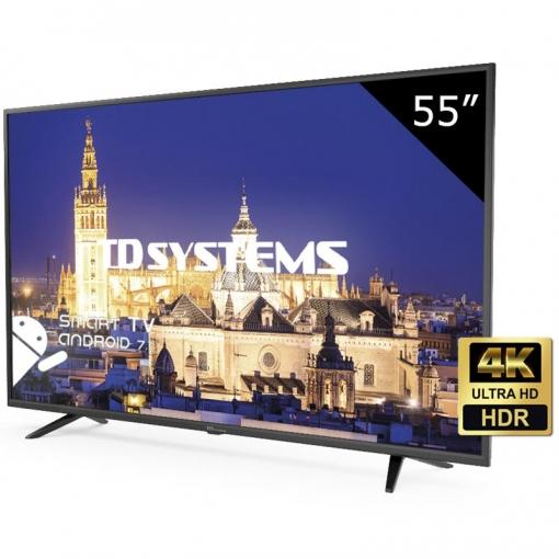 TV LED 139.70 cm (55'') TD Systems K55DLY8US,UHD 4K, Smart TV