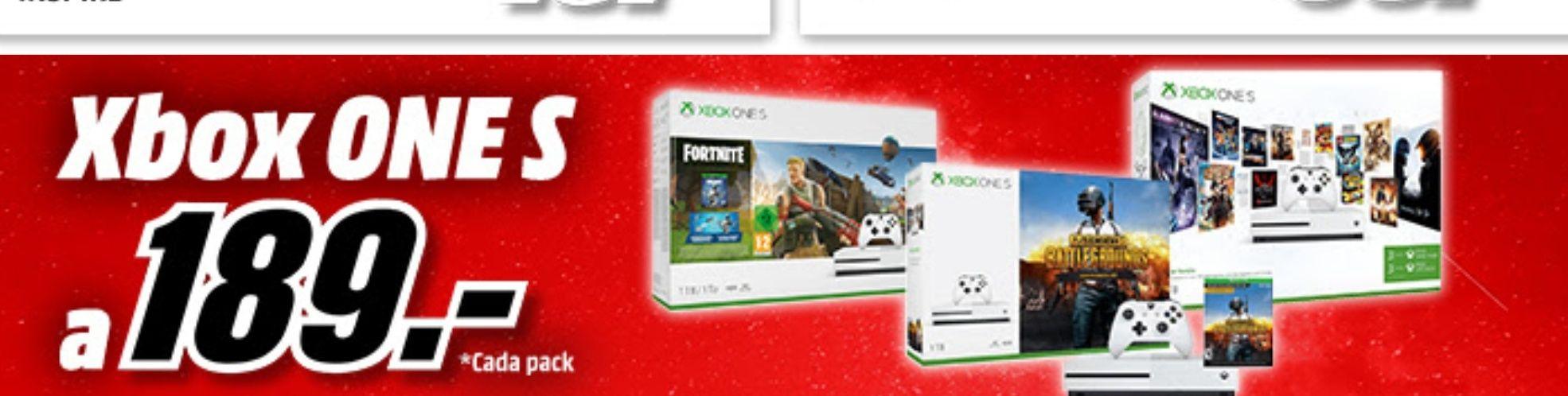 Xbox One 1tb + juegos a 189€ a partir de las 10