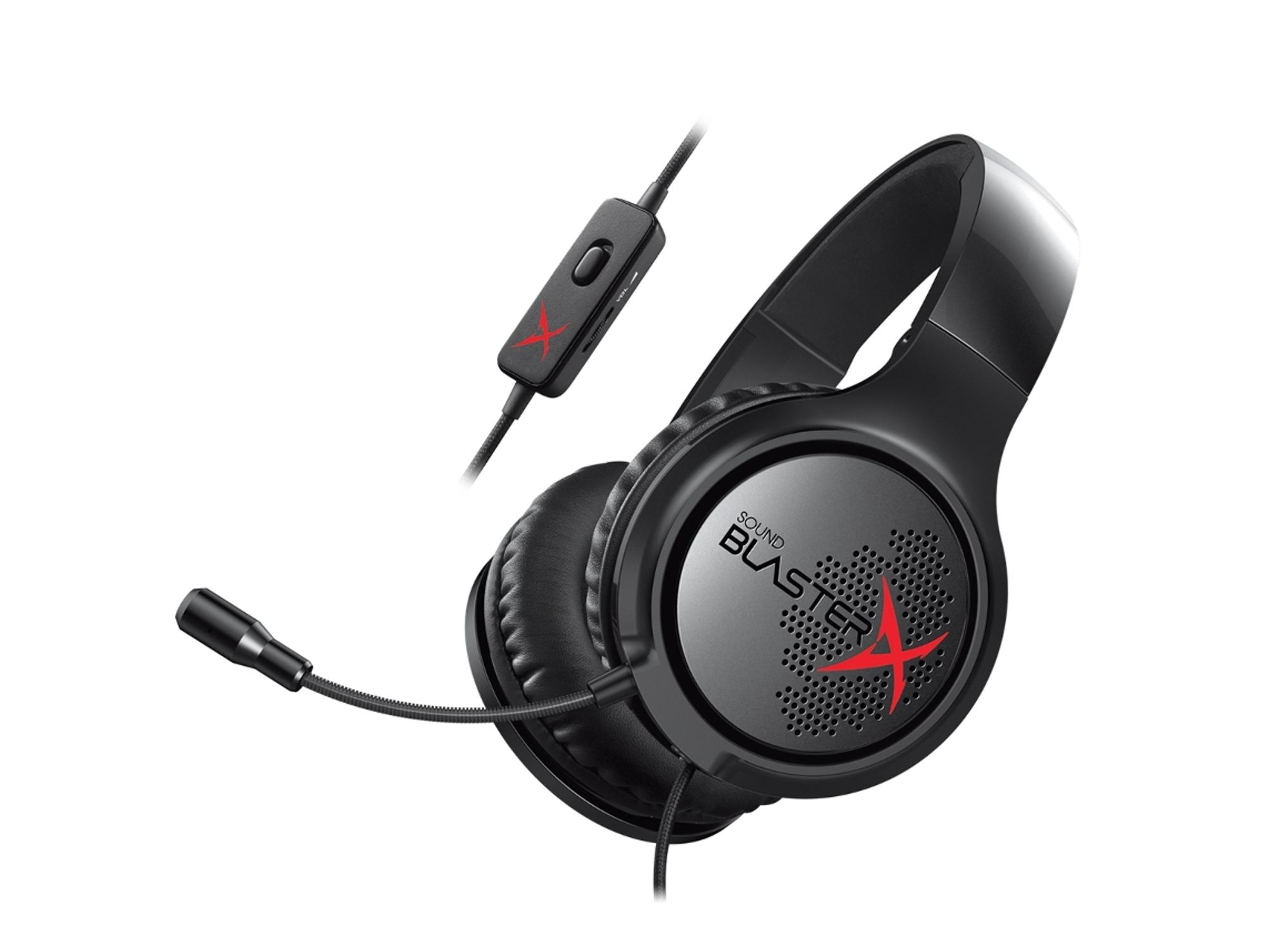 Auriculares Gaming CREATIVE Sound BlasterX H3