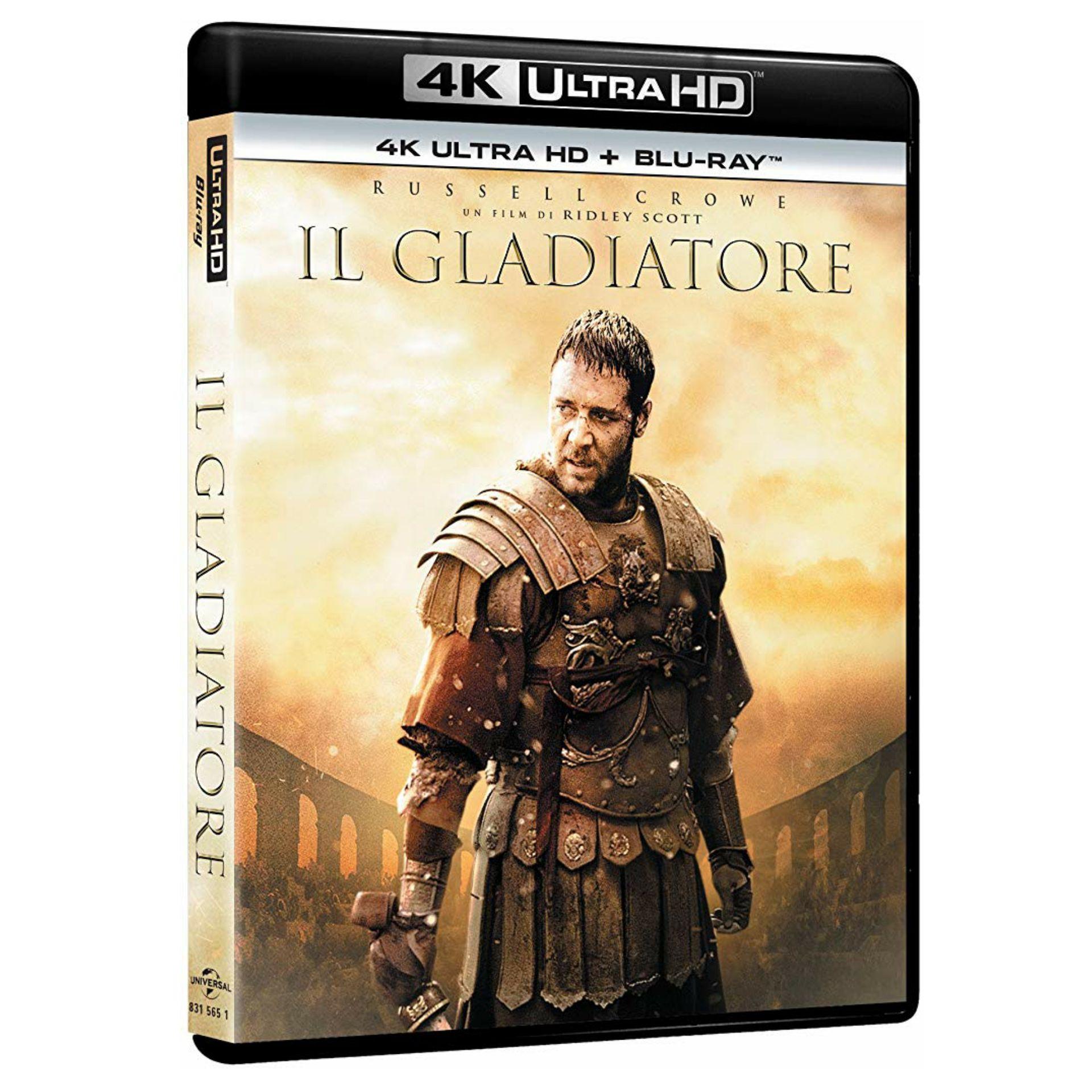 Gladiator 4K Ultra HD + Blu-Ray en Castellano