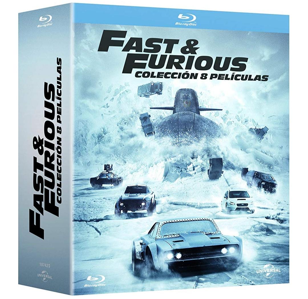 Fast and Furious 8 películas Bluray Amazon