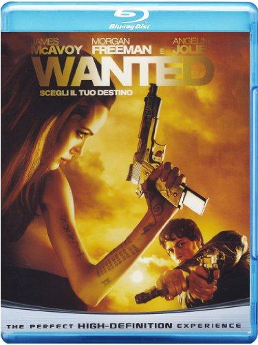 WANTED Blu-ray (Edición italiana)