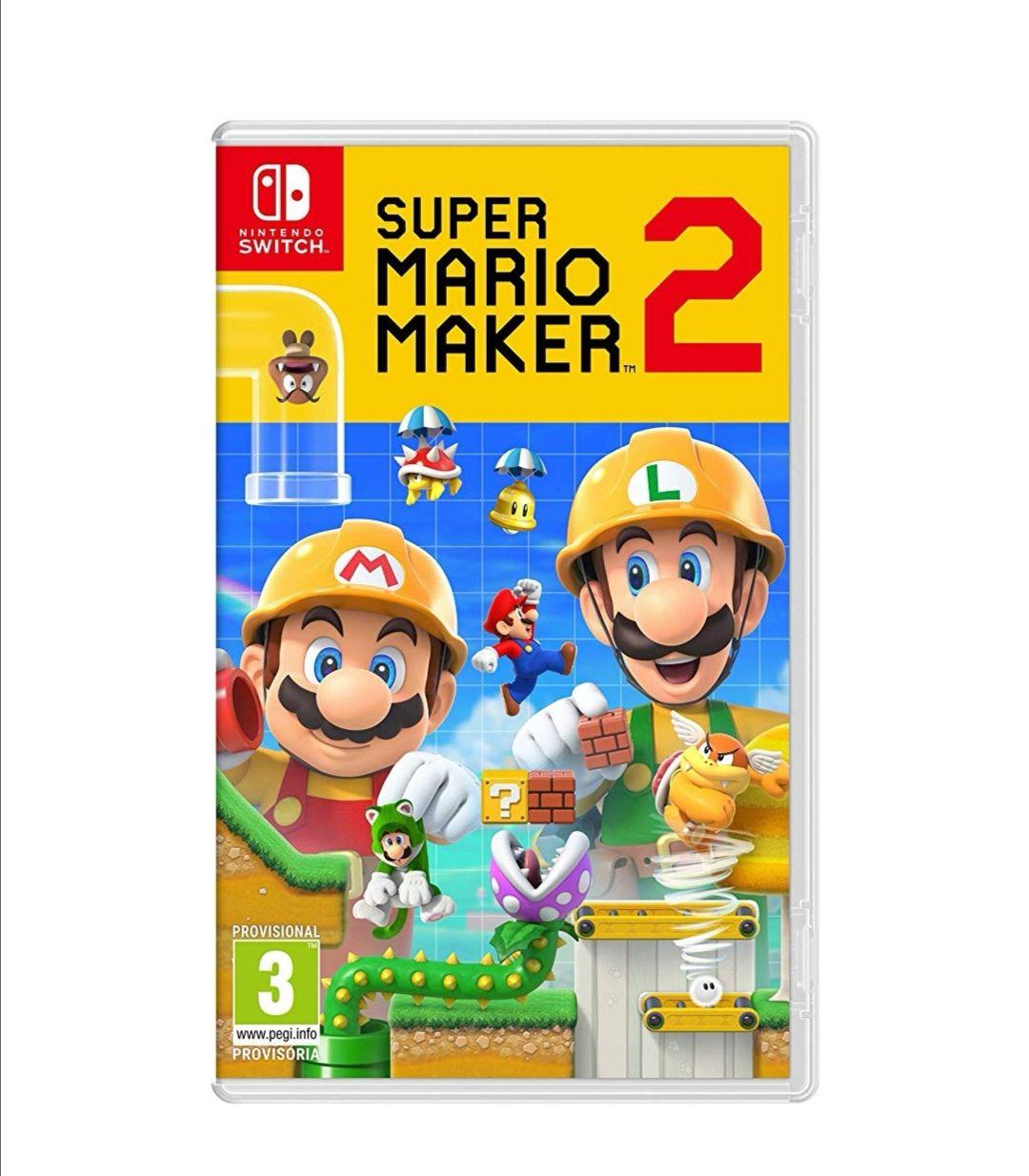 Mario Maker 2 en mínimo histórico en Amazon