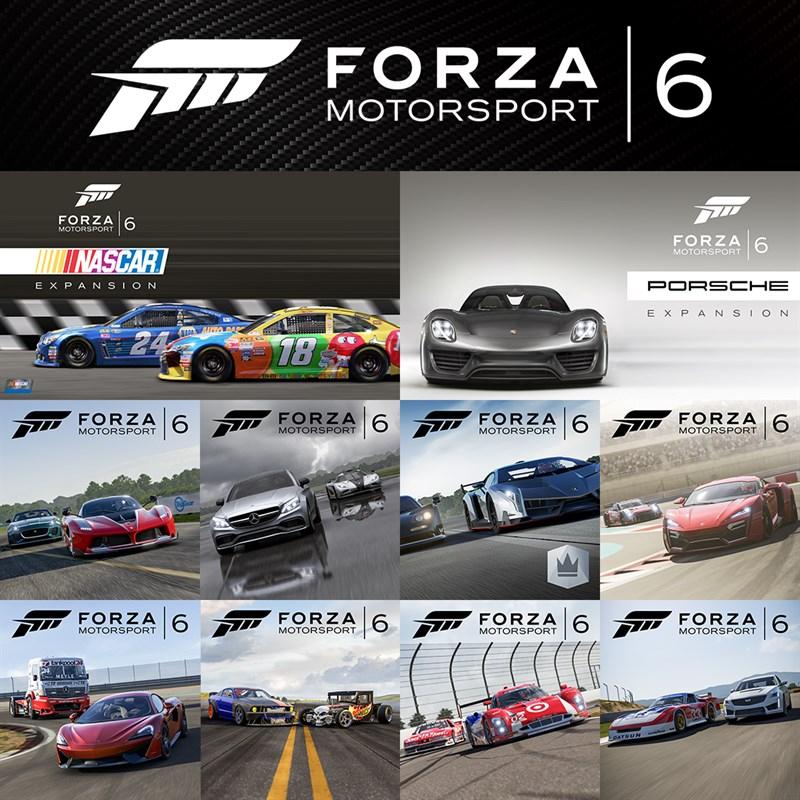 Forza Motorsport 6 paquete completo solo 4.9€