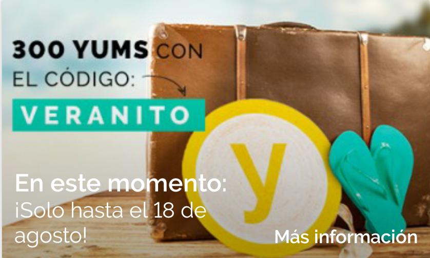 300 Yums gratis