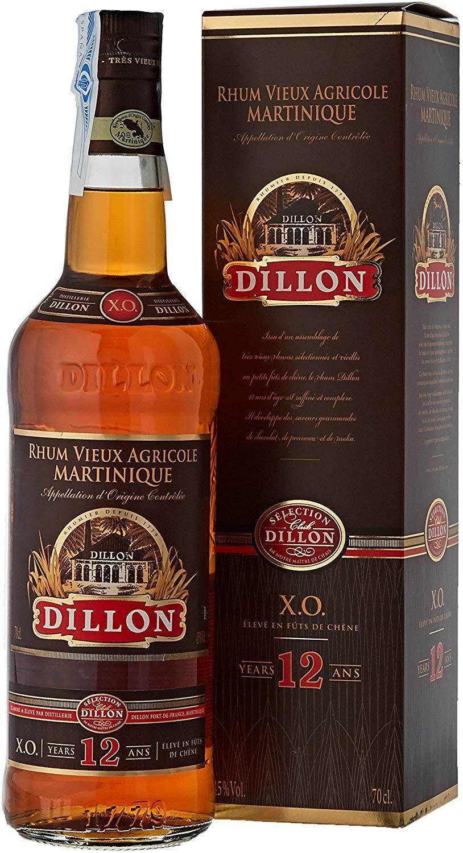 Ron Dillon X.O. 12 años - 700 ml.