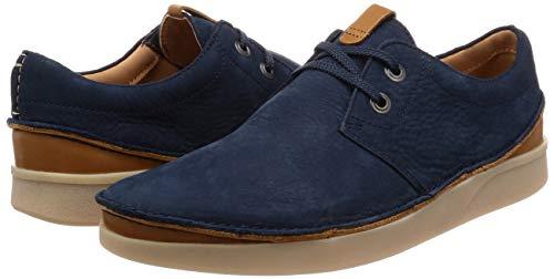 Zapatos de cuero Clarks Oakland Lace