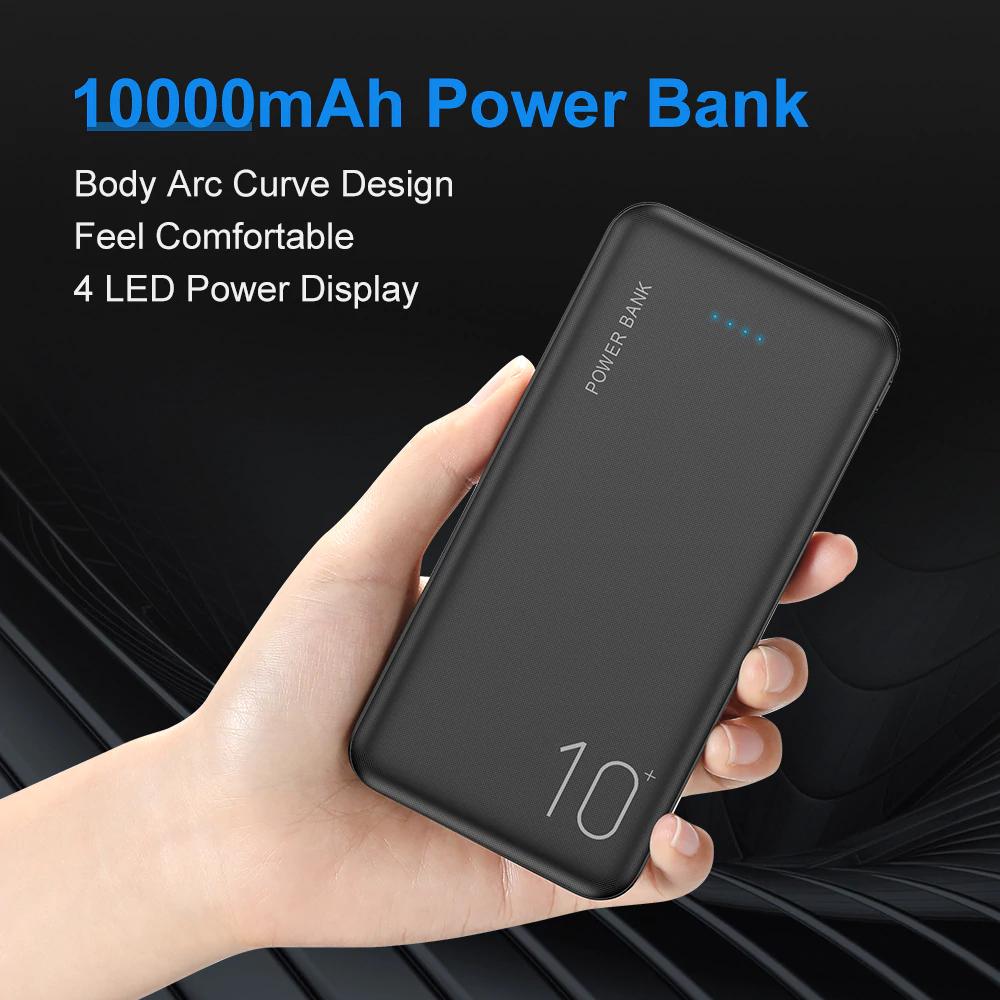 Power Bank 10000 mAh  por 8,22€