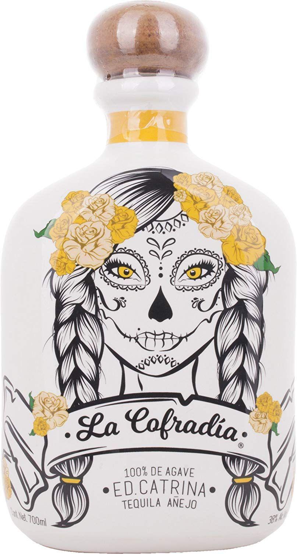 Tequila Cofradía Añejo Edición Catrina - 700 ml.