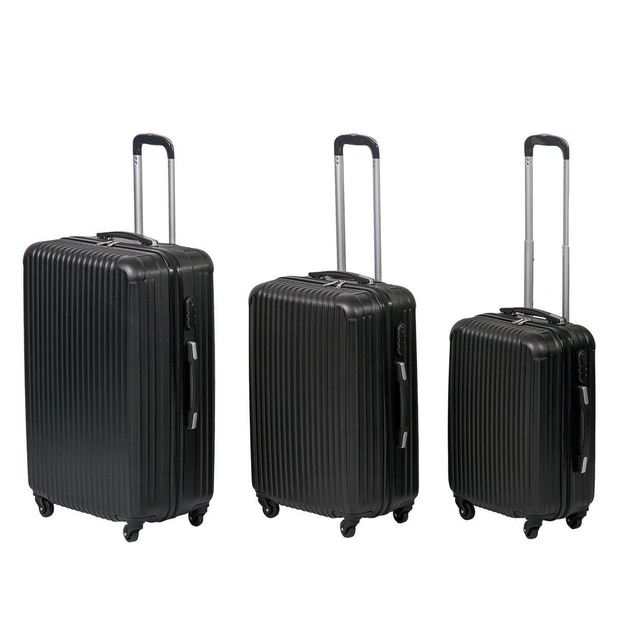 Set 3 maletas rígidas ABS solo 59€