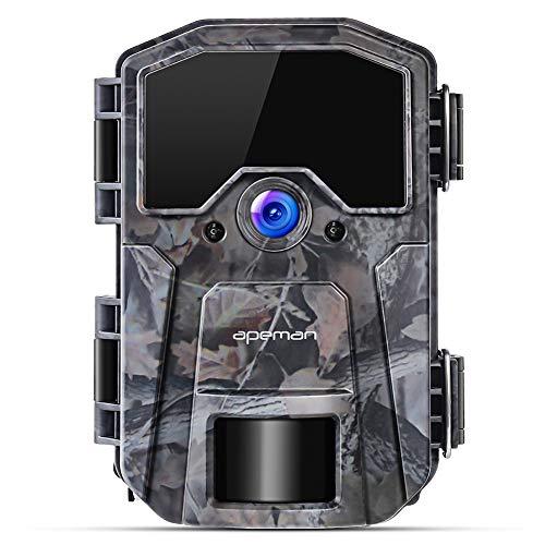 APEMAN Cámara de Exterior 16MP 1080P  con buena visión nocturna